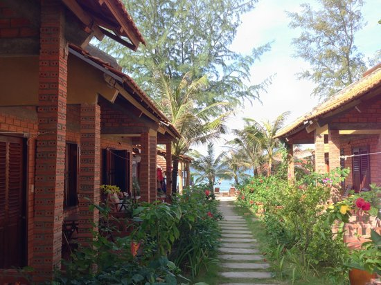Phu Quoc Kim Bungalows On The Beach : Phu Quoc Kim view to beach