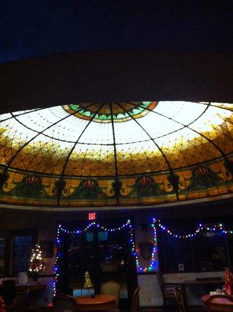 Best Western Big Bear Chateau: Tiffany dome