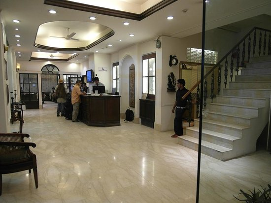 Hotel Ajanta: Lobby of Ajanta Hotel, New Delhi, India