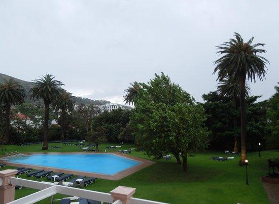 Belmond Mount Nelson Hotel: View from balcony