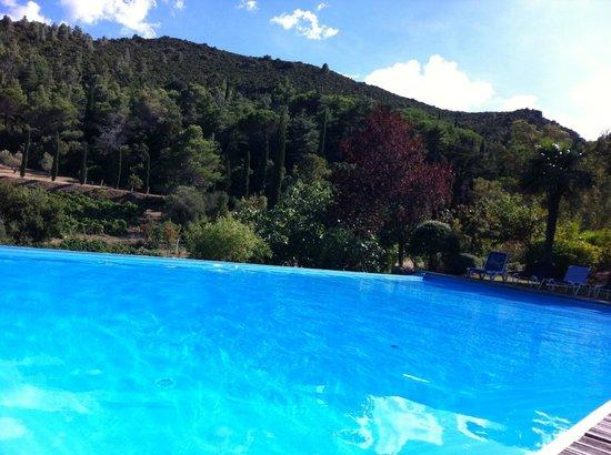 Chateau Haut-Gleon: Der Pool