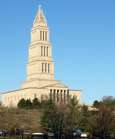 Embassy Suites by Hilton Alexandria-Old Town : View from room of George Washington Masonic