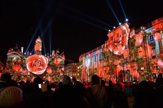 Place des Terreaux : Fête des lumières déc 2013