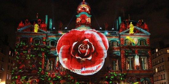 Place des Terreaux : Fêtes des lumières déc 2013