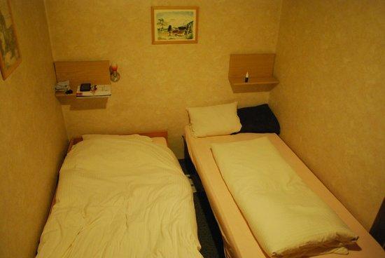 Hotel Linde: gezellig met z'n tweetjes op een verschillende hoogte slapen