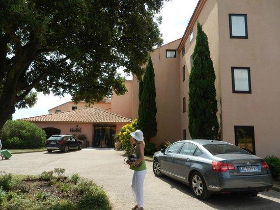 Résidence U Libecciu : Entrée hotel