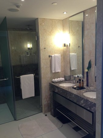 Jumeirah at Etihad Towers: Badezimmer