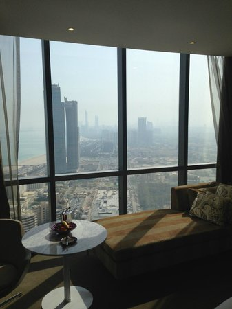Jumeirah at Etihad Towers: Zimmeraussicht