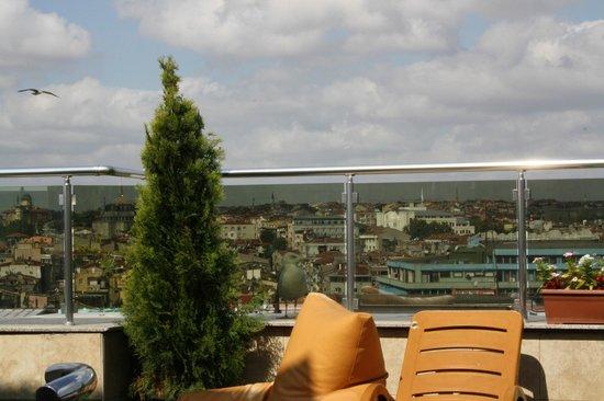 Aspen Hotel : Вид с крыши