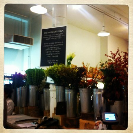 Dean & DeLuca Cafe : Flores