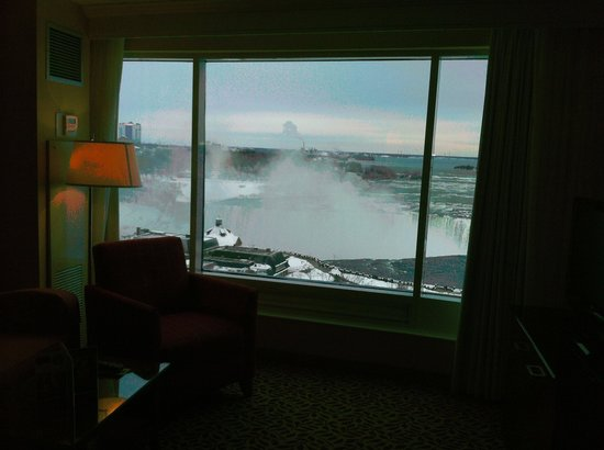 Niagara Falls Marriott Fallsview Hotel & Spa: The Falls view