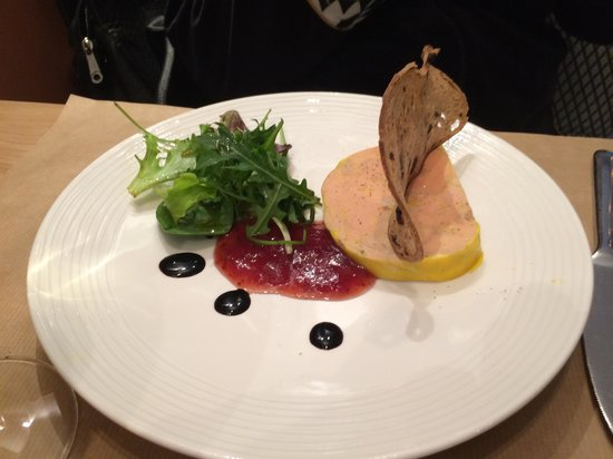 entr e foie gras picture of olive artichaut nice tripadvisor. Black Bedroom Furniture Sets. Home Design Ideas