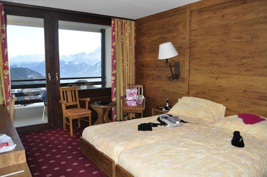Hotel Central Residence : kamer