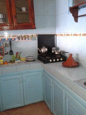 Ocean Surf House Taghazout: Kitchen
