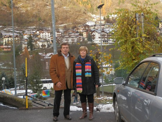 Alp Hotel Dolomiti: panorama