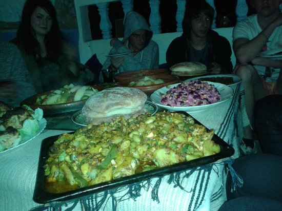 Ocean Surf House Taghazout: Guest dinner at Oceansurfhouse