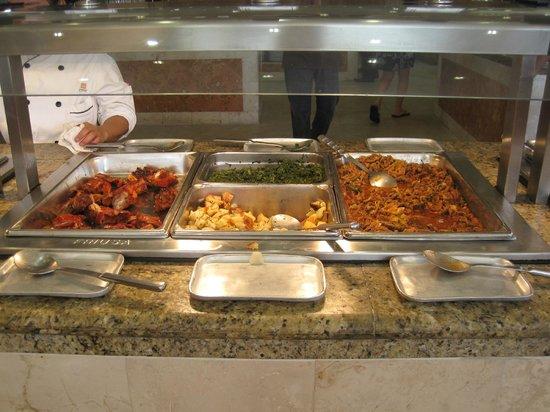 Viva Wyndham Maya: Ausschnitt vom Mittagsbuffet