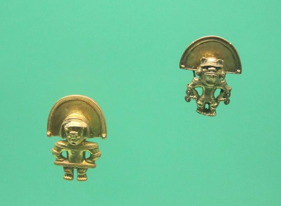 Museo del Oro Zenu : sample from the gold collection