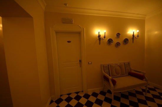 Hotel Mozart: Entrée de la Chambre