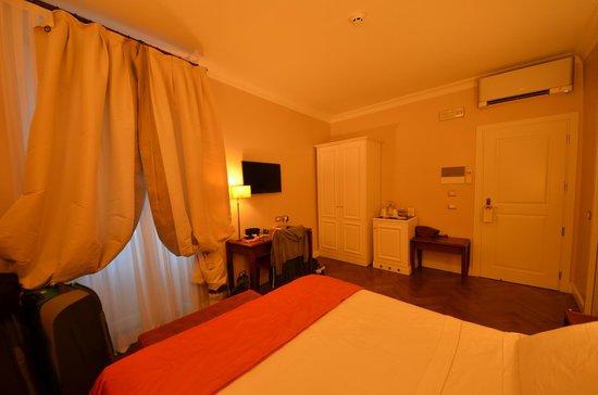 Hotel Mozart: Vue de la chambre