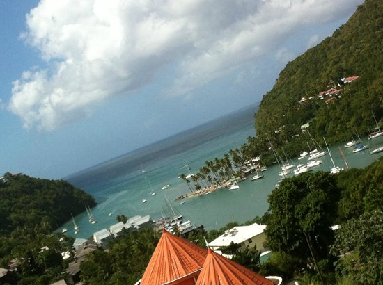 Julietta's : Marigot Bay view