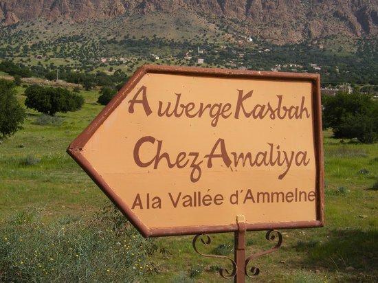 Auberge Kasbah Chez Amaliya : de weg naar een mooie locatie