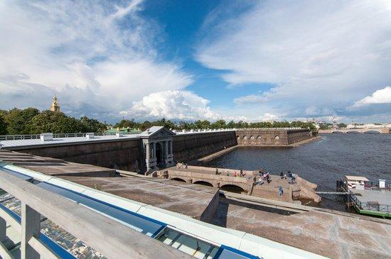 Peter and Paul Fortress (Petropavlovskaya Krepost): Vista dai bastioni