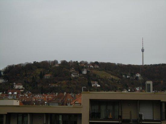 Park Inn by Radisson Stuttgart : View from bedroom