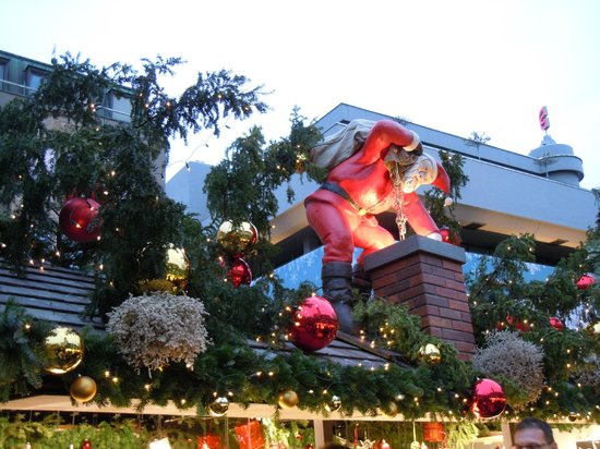 Park Inn by Radisson Stuttgart: Christmas markets stalls