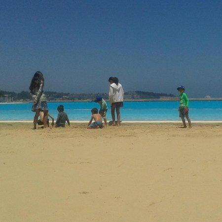 San Alfonso del Mar : Zona de pileta y playa