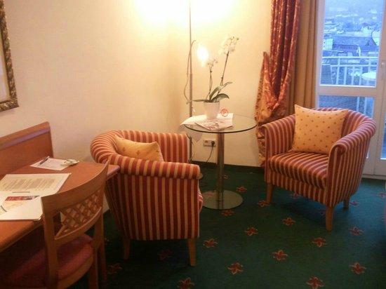 Hotel Villa Huegel: Zimmer