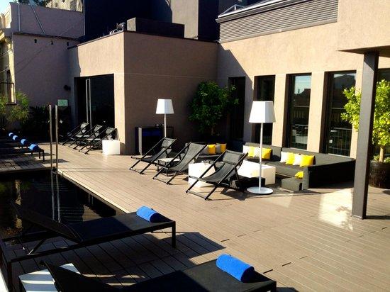 H10 Urquinaona Plaza : Hotel Top floor terrace