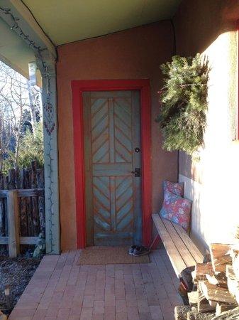 Casa Gallina: Entrance to casita