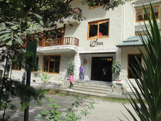 SUMAQ Machu Picchu Hotel: Exterior Front