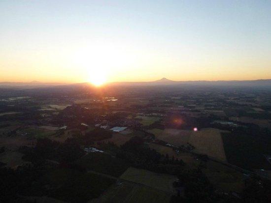 Portland Rose Hot Air Balloons: Sunrise!