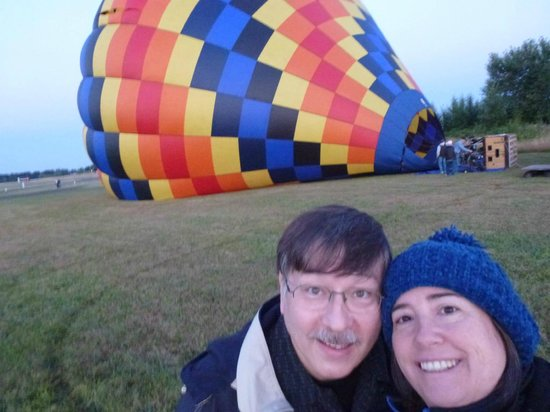 Portland Rose Hot Air Balloons : Getting started