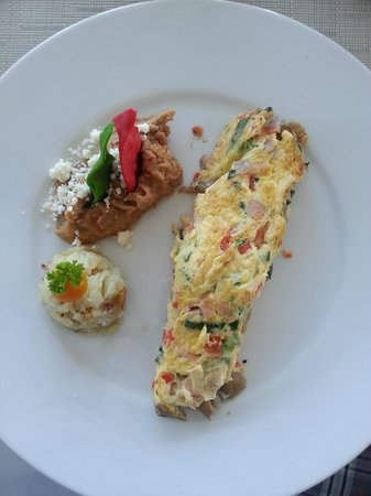 Grand Miramar All Luxury Suites & Residences : Omelette - awesome