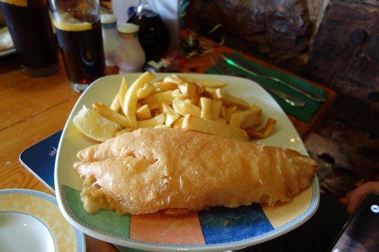 Hanbury's Famous Fish & Chips: medium cod & chips