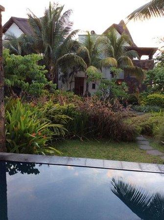 Angsana Balaclava Mauritius: view from spa suite