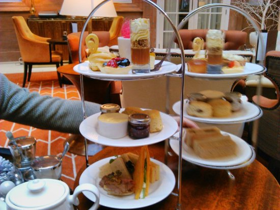 Waldorf Astoria Edinburgh - The Caledonian : Afternoon tea