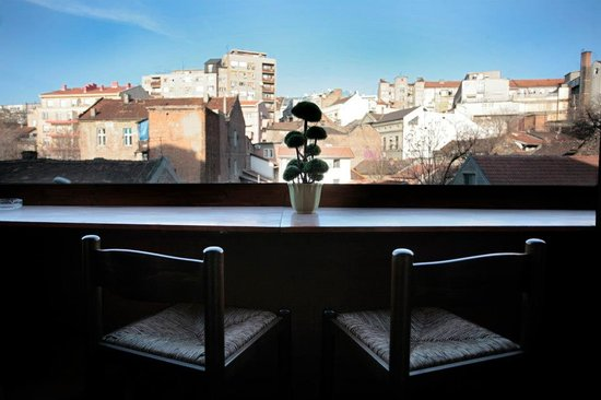 Double Door Hostel: Terrace