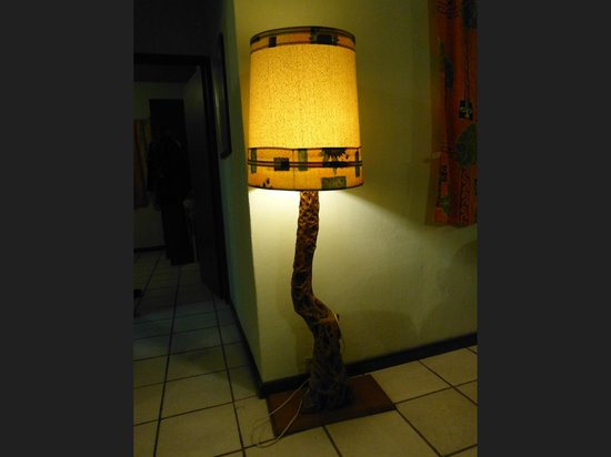 Hacienda Del Sol: Lamp in our cottage