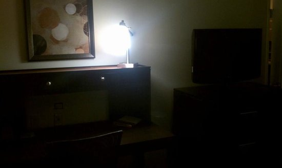 Staybridge Suites Bowling Green: This was the desk area in our room.