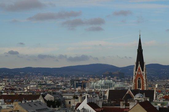Novum Hotel Prinz Eugen Wien: Вид на город