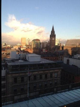 Radisson Blu Edwardian Manchester : View from our room on the 11th floor