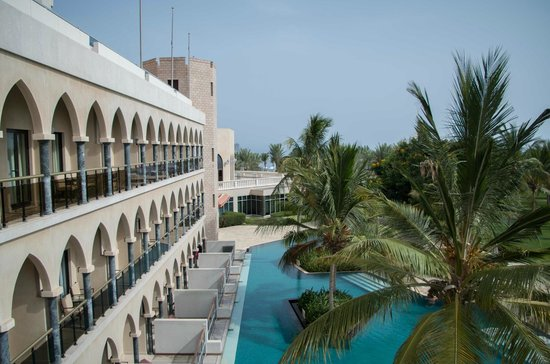 Al Bustan Palace, A Ritz-Carlton Hotel: view from our room