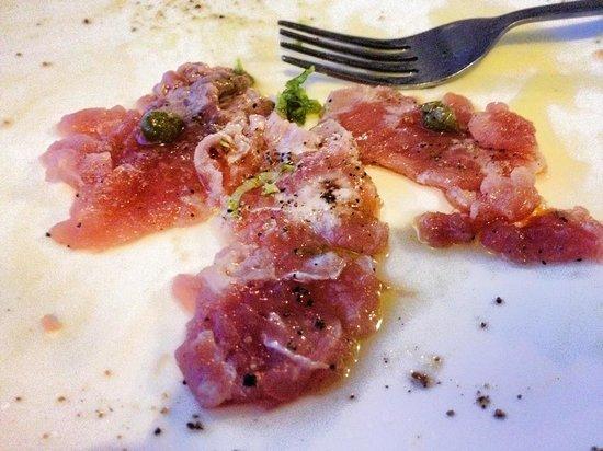 Gusto Food & Wine: Carpaccio di tonno