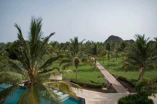 Al Bustan Palace, A Ritz-Carlton Hotel: view from the room