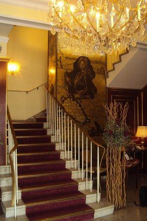 Novum Hotel Prinz Eugen Wien: Foyer