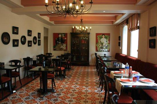 Villa Lara : Breakfast room